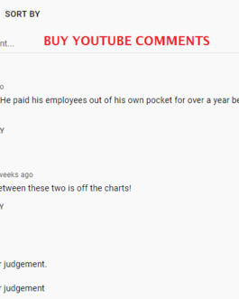 15 YT Comments + 10 YT Likes