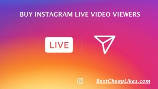 Instagram live video viewers
