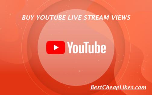 Youtube Live Stream Views