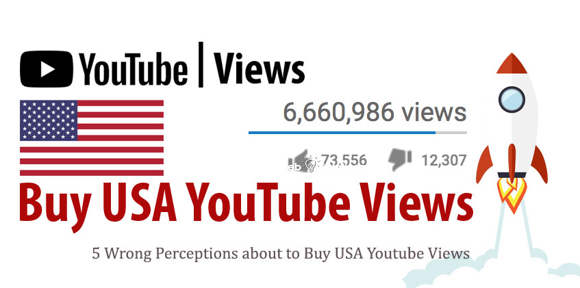 5 Wrong Perceptions about to Buy USA Youtube Views