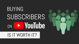Why don't you buy Youtube Subscribers for your channel?