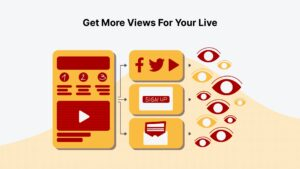 Promote your livestream event