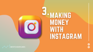 Maketing money with Instagram
