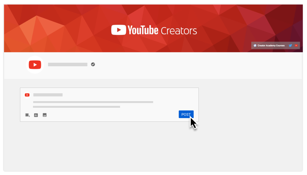 How to create a YouTube Community Post 2021