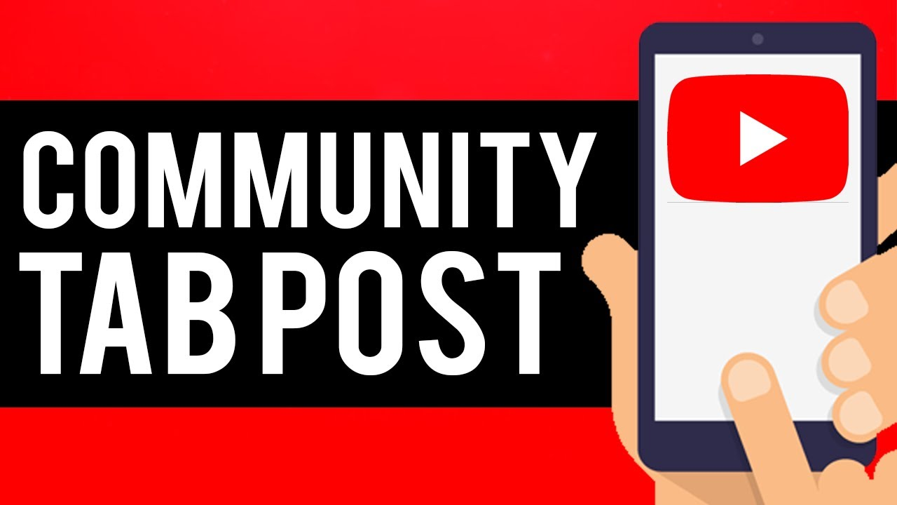 How to create a YouTube Community Post in 2021