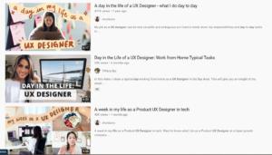 Vlog content