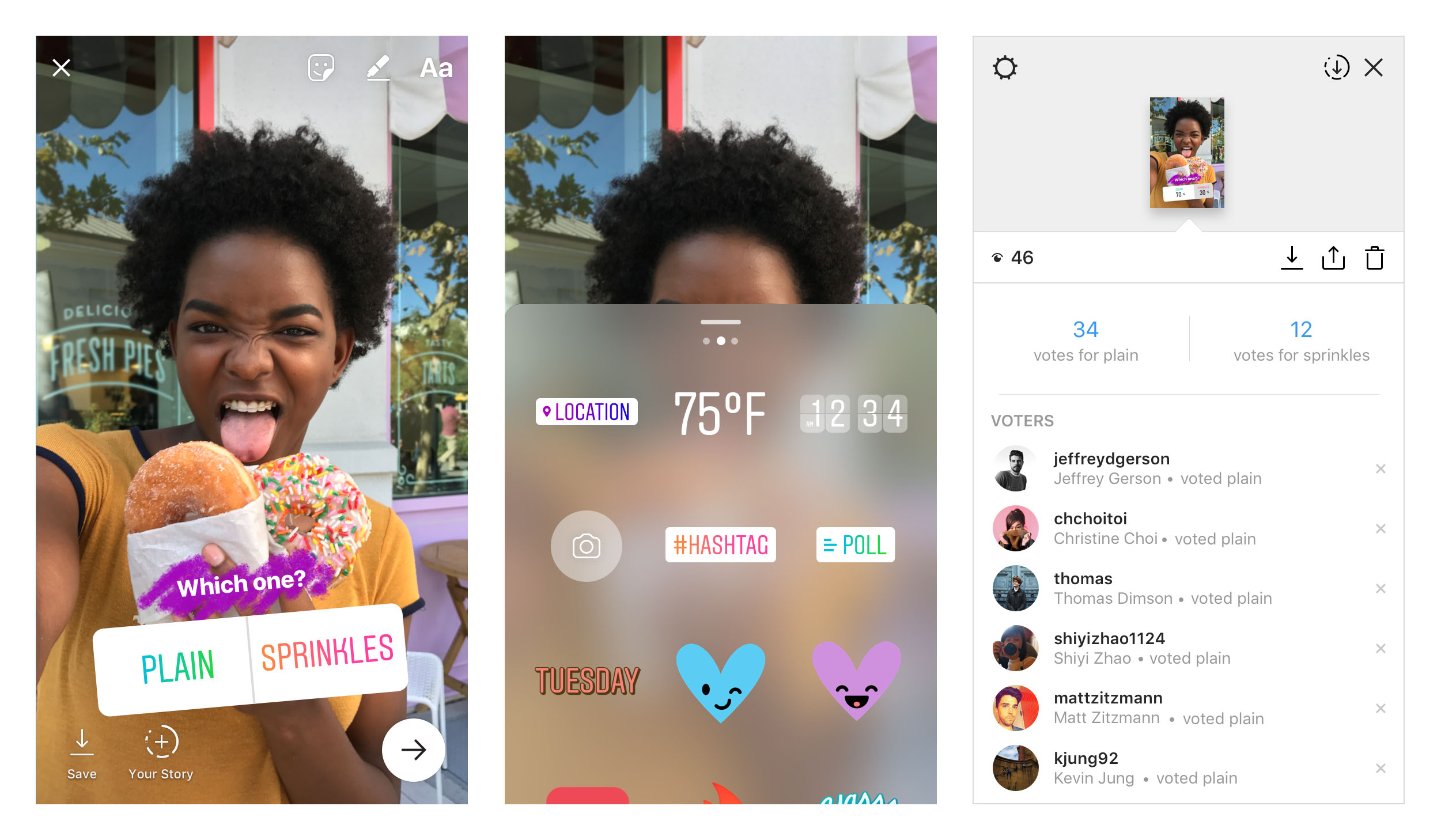 6 Instagram Stickers to hook people atention from your Insta story